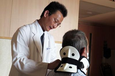 高位頸椎骨折舉筷難 手術固定復位 壯漢重拾健康
