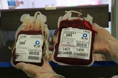 臺中慈濟醫院全面提供「減白紅血球濃縮液」輸血更安全