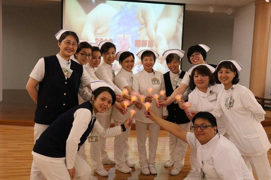 「你家、我家,都一家」故事 臺中慈濟醫院溫馨慶祝護師節
