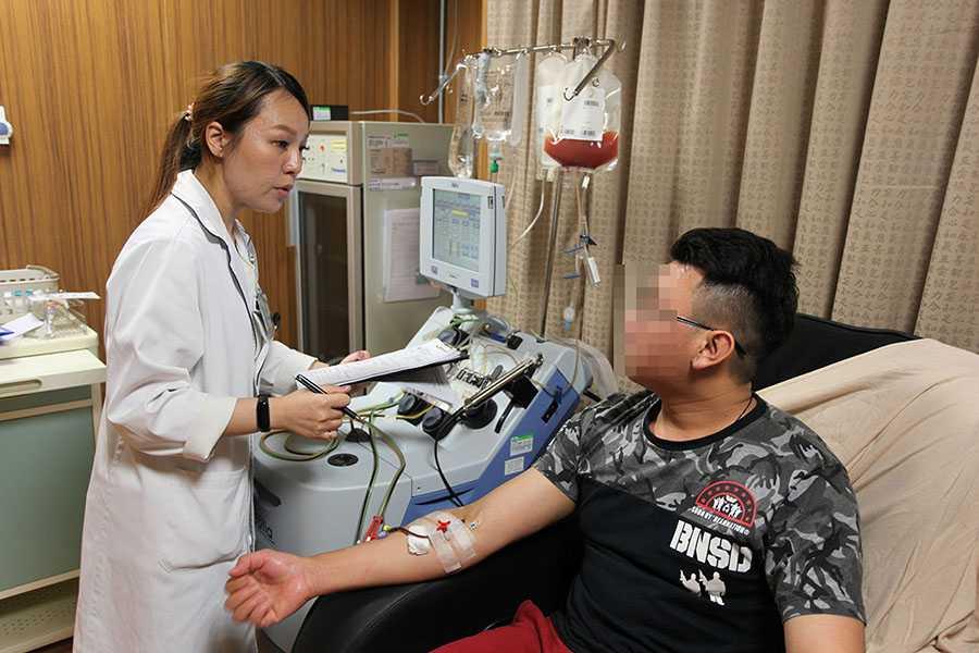 臺中慈濟醫院通過審查 可採集志願捐贈者周邊血幹細胞