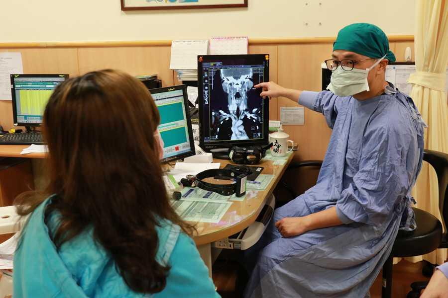 顏面神經偵測器 降低腮腺腫瘤手術後遺症