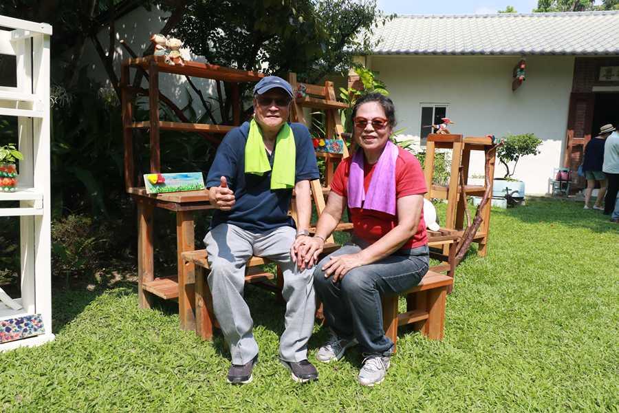 慈濟日祥長照據點木工課 長輩手做桌椅讓愛循環