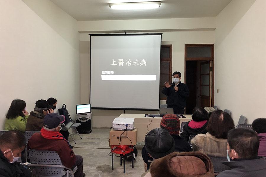 臺中慈濟醫院外科團隊水里推素 鄉親熱情出席