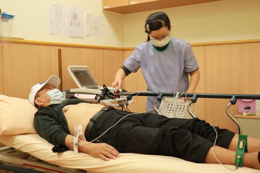 單車健將暴增二十公斤竟是心衰竭引發水腫