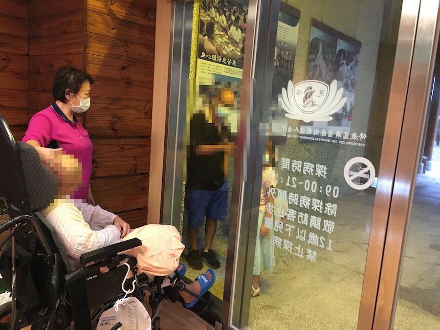 臺中慈濟心蓮病房另類見面會 病人親友溫暖傳愛